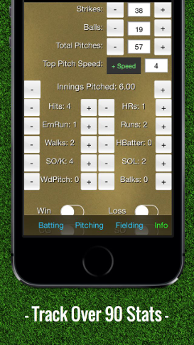 Baseball Stats Tracker Touch – TouchMint